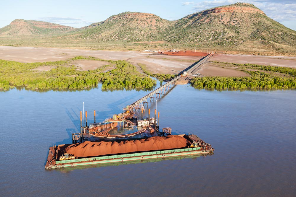 RIDGES IRON ORE PROJECT - WYNDHAM, W.A.